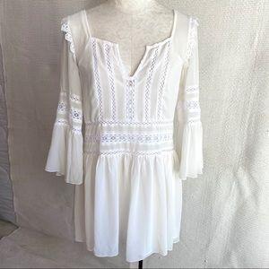 Tularosa Revolve S Boho Lolita Long Sleeved Dress